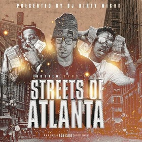 Streets of Atlanta (Hosted By D Stackz) DJ Big Migoo front cover