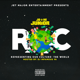 JD The Junior- R.O.C. DJ Infamous front cover