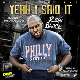 Ron Black - Yeah I Said It Skroog Mkduk front cover