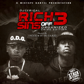 Rich Off Sins 3 DJ LYRICAL front cover