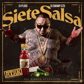 Siete Salsa Atak front cover