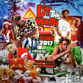 Lit This Month (December Best of 2017) DJ Testarosa front cover