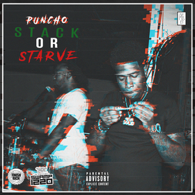 STACK OR STARVE Puncho front cover