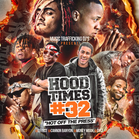 Hood Times 32 DJ Effect front cover