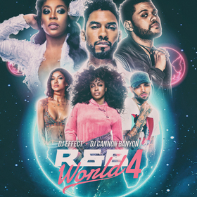 R&B WORLD 4 DJ Effect front cover