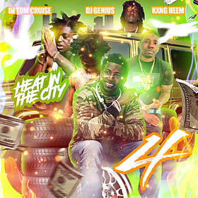 Heat In The City 4 DJ Tom Cruise front cover