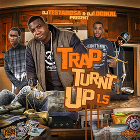 Trap Turnt Up 1.5 DJ Testarosa front cover