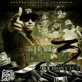 Trap Talk 3 Various Artists front cover