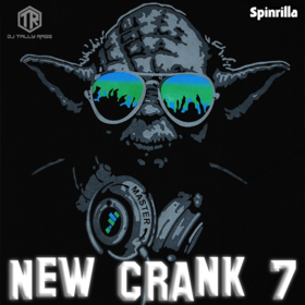 New Crank 7 DJ Tally Ragg front cover