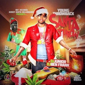 Santa Throw Young Throwback front cover