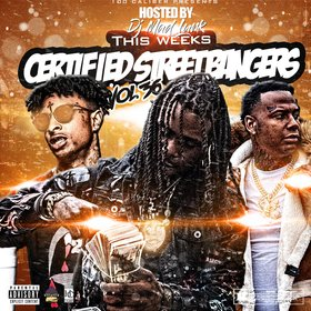 This Week's Certified Street Bangers Vol. 36 DJ Mad Lurk front cover