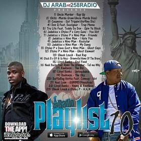 Playlist 10 Dj Arab front cover