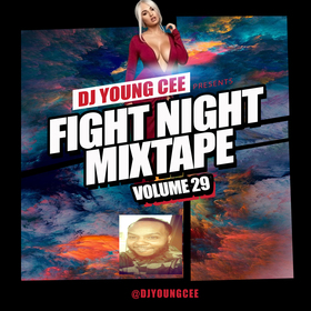 Dj Young Cee Fight Night Mixtapes Vol 29 Dj Young Cee front cover