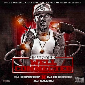 J Sawyer - Well Connected DJ Konnect  front cover