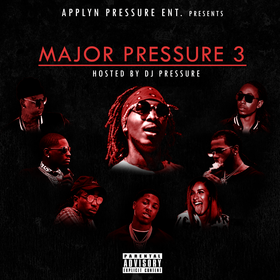 Major Pressure Vol. 3 DJ That Boy Pressure front cover