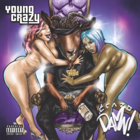 Crazo Damn! Young Crazy front cover