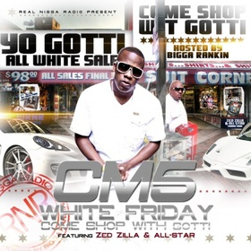 Cocaine Muzik 5 (CM5: White Friday) Yo Gotti front cover