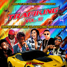 Trafiking Vol. 10 Lex Luga front cover