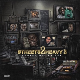 Streets 2 Heavy 3  DJDee front cover