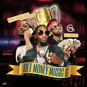 Get Money Music 6 DJ GMAAC front cover