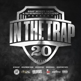In The Trap 20 DJ ASAP front cover