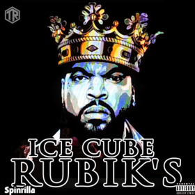 Ice Cube - Rubik's DJ Tally Ragg front cover