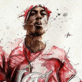 2Pac - The G.O.A.T DJ Tally Ragg front cover