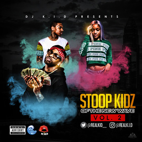 Stoop Kidz of the New Wave Vol.2 Dj K.i.D  front cover