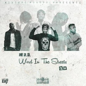 Word In The Streets 10 DJ S.R. front cover