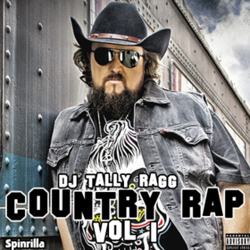 Country Rap Vol 1 DJ Tally Ragg front cover