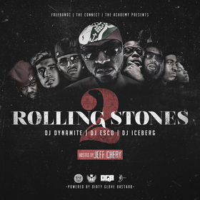 Rolling Stones 2 (Hosted By Jeff Chery) DJ Dynamite front cover