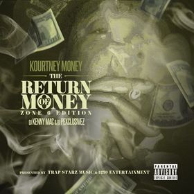 The Return Of Money (Zone 6 Edition) Kourtney Money front cover