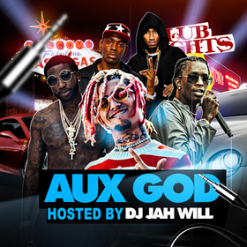 Aux God DJ Jah Will front cover