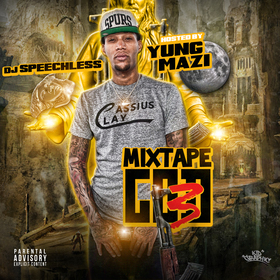 Mixtape God 3 Yung Mazi front cover