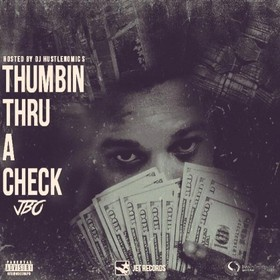 Thumbin Thru A Check JBo front cover