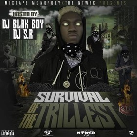 Survival Of The Trillest DJ S.R. front cover