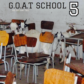 Goat School 5 Young Goats In Training front cover