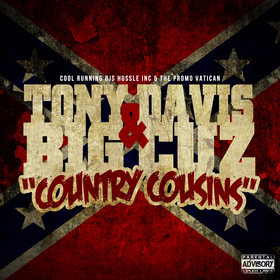 Country Cousins Tony Davis front cover