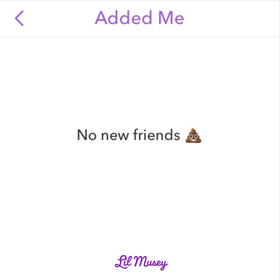 No New Friends Lil Musey front cover