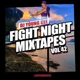 Dj Young Cee Fight Night Mixtapes Vol 42 Dj Young Cee front cover