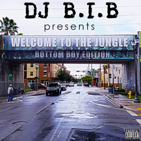 Welcome To The Jungle: Bottom Boy Edition DJ B.I.B front cover