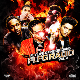 FLFG Radio Vol. 2 Fly Life x Finesse Gang front cover