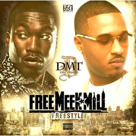 Free Meek Mill Freestyle DMT The Rapper front cover