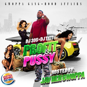 Profit & Pussy: Burger King Trap House Edition DJ 305 front cover