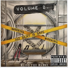 No beat is safe vol.2 ReddTheRebel front cover