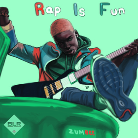 Rap Is Fun Zumbee front cover