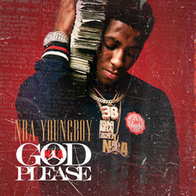 NBA YOUNGBOY-God Please DJ Jeff Duran front cover