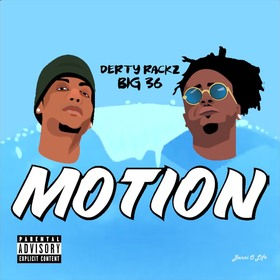 MOTION DERTY RACKZ front cover