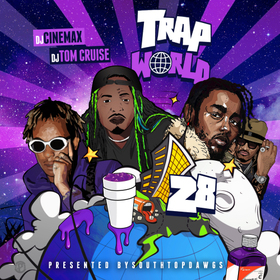 Trap World 28 DJ Cinemax front cover