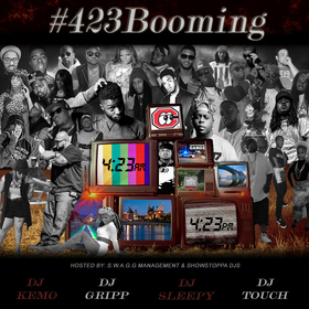 #423Booming Dj Sleepy  front cover